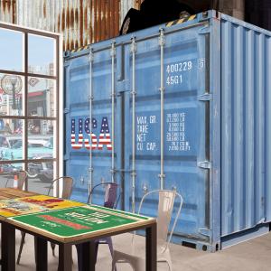arizona-66-garage-progettazione-american-bar-carta-da-parati-container