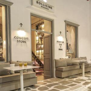 Ingresso concept store Bollicine