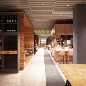 cento-nove-officine-lamezia-terme-progettazione-locali-render-ristorazione-interior-design-industrial-corridoio