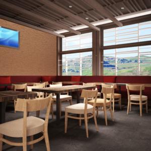 cento-nove-officine-lamezia-terme-progettazione-locali-render-ristorazione-interior-design-industrial-divani-rossi-sedie-legno