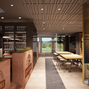 cento-nove-officine-lamezia-terme-progettazione-locali-render-ristorazione-interior-design-industrial-fioriere-salette