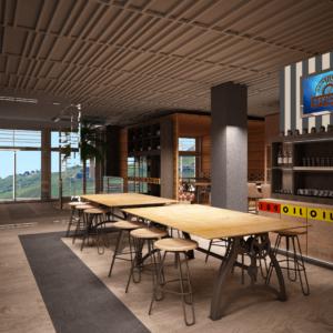 cento-nove-officine-lamezia-terme-progettazione-locali-render-ristorazione-interior-design-industrial-tavoli-legno-oil