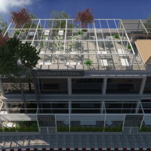 vivo-el-jadida-progettazione-locali-render-3d-rooftop-giorno-ristorazione-outdoor-design-italian-food